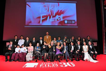 第30回東京国際映画祭受賞作品 インタビュー・予告編 総集編