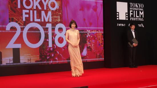 第31回 東京国際映画祭 開幕。レッドカーペット レポート。(東京・六本木)