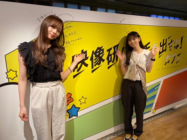 映画『映像研には手を出すな!』コラボカフェ(東京都渋谷区・表参道)